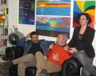 Con lo scrittore Giacomo Cacciatore e l'editor Marina Finettino. Presentazione di Cronaca Dannata