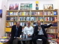 Con il giornalista Marcello Sorgi e lo scrittore Paolo Foschi. Presentazione de La Memoteca a Roma.