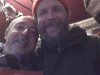 Con Lorenzo Jovanotti all'Edicola Fiore