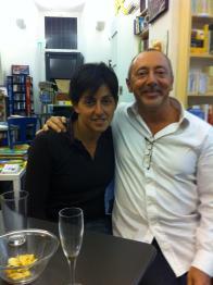 Con Mariliana Lo Verso