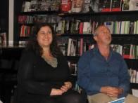Con Maria Grazia Sclafani, alla presentazione di certe strade semideserte