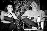 Con la grande attrice Stefania Blandeburgo