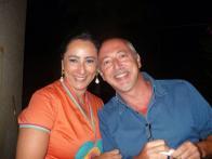 Con la pittrice Stefania DI Lorenzo