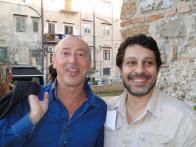 Con Giacomo Cacciatore