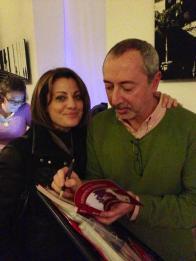 Con Ines Trapani