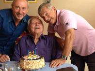 Ai 91 anni di mio padre, con Vincenzo