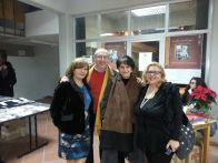 Con Simonetta Agnello Horby, Sara Favarò e vice sindaco di Siculiana