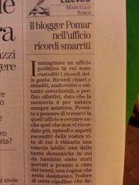 Recensione di Marcello Sorgi su La Stampa