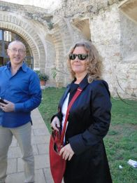 Con Valentina Gebbia
